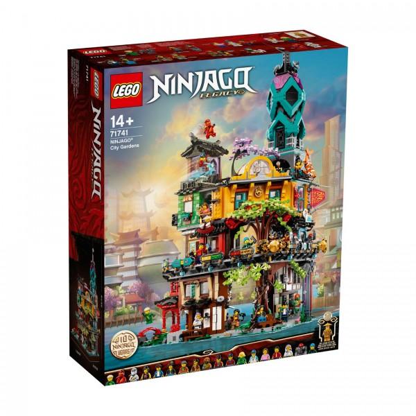 LEGO® NINJAGO® 71741 Die Gärten von NINJAGO® City