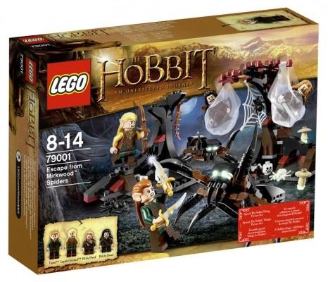 LEGO® Der Hobbit 79001 Flucht vor den Mirkwood™ Spinnen