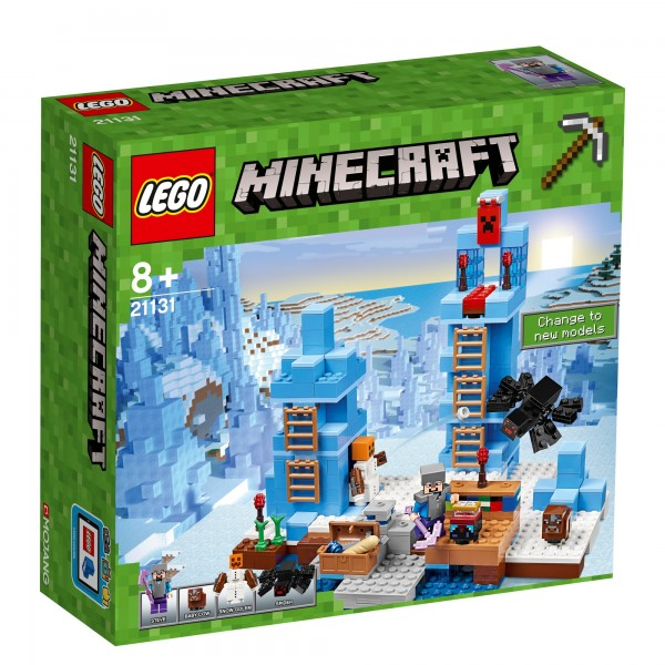 LEGO® Minecraft 21131 Türme aus Eis