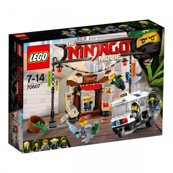 LEGO® Ninjago Movie 70607 Verfolgungsjagd in NINJAGO City