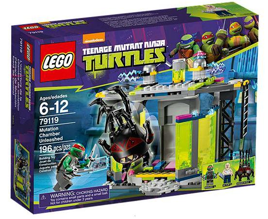 LEGO® TMNT 79119 Die Entdeckung der Mutationskammer
