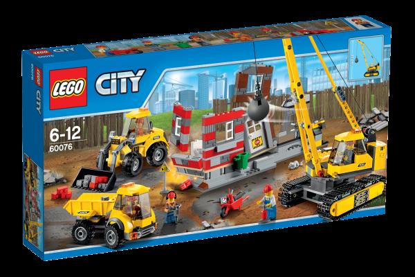 LEGO® CITY 60076 Abriss-Baustelle