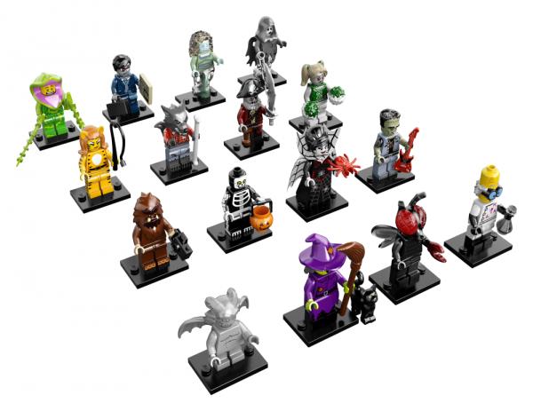 LEGO® Monster Minifigures Serie 14 - alle 16 Figuren