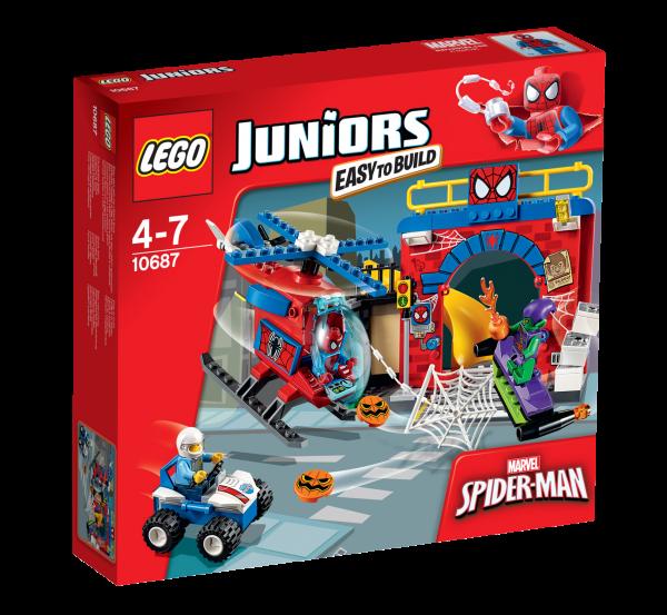 LEGO® Juniors 10687 Spider-Man Versteck
