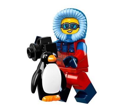 LEGO® Minifiguren Serie 16 - Wildfotograf 71013-07
