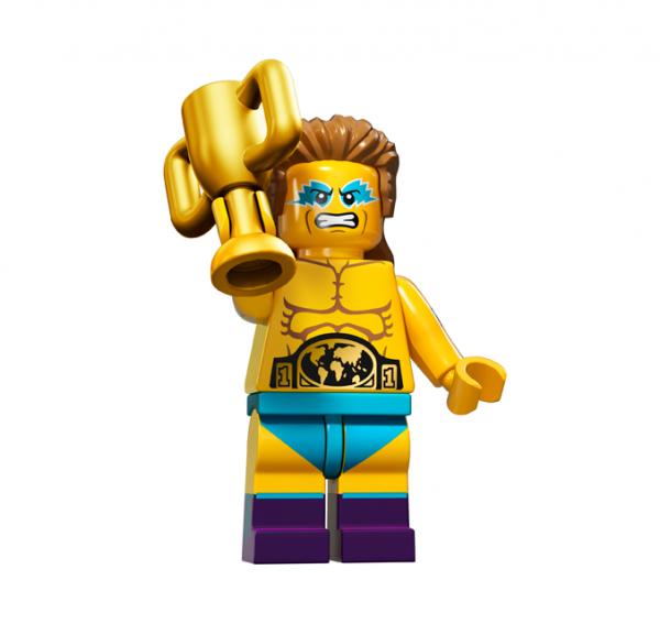 LEGO® Minifiguren Serie 15 - Wrestling Champion 71011-14