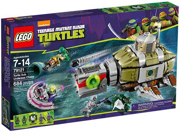 LEGO® TMNT 79121 Verfolgungsjagd im Turtle-U-Boot