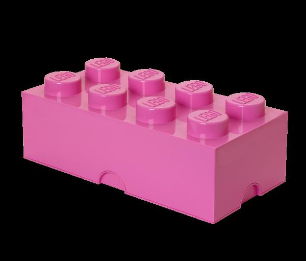 LEGO® Storage Brick 8 pink