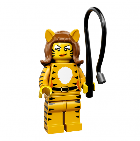 LEGO® Monster Minifigures Serie 14 - Tigerfrau 71010-09