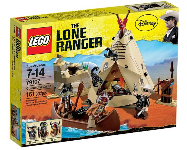 LEGO® Lone Ranger 79107 Lager der Comanchen