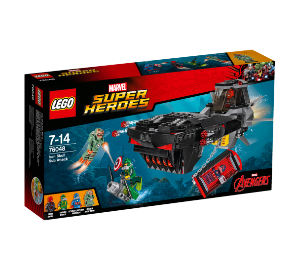 LEGO® Marvel Super Heroes 76048 U-Boot Überfall von Iron Skull