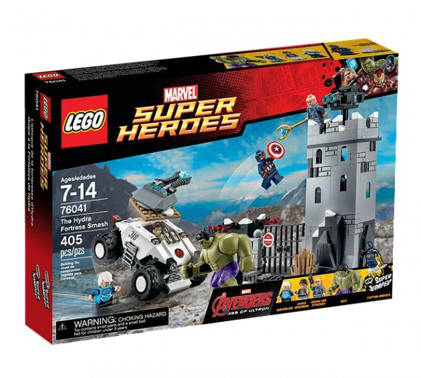 LEGO® Marvel Super Heroes 76041 Einbruch in die Hydra-Festung