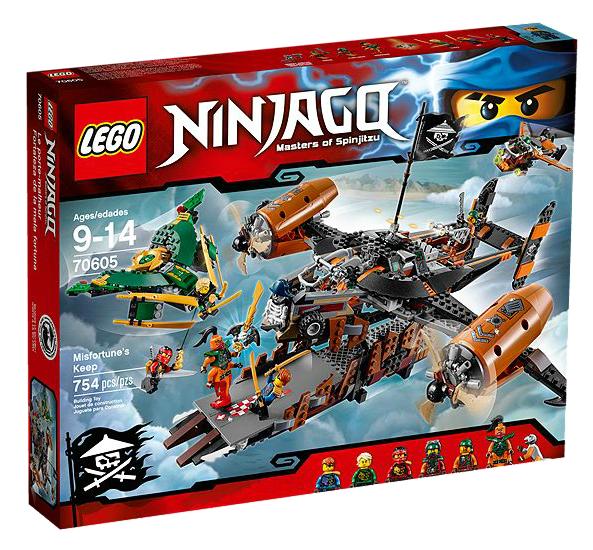 LEGO® Ninjago 70605 Luftschiff des Unglücks