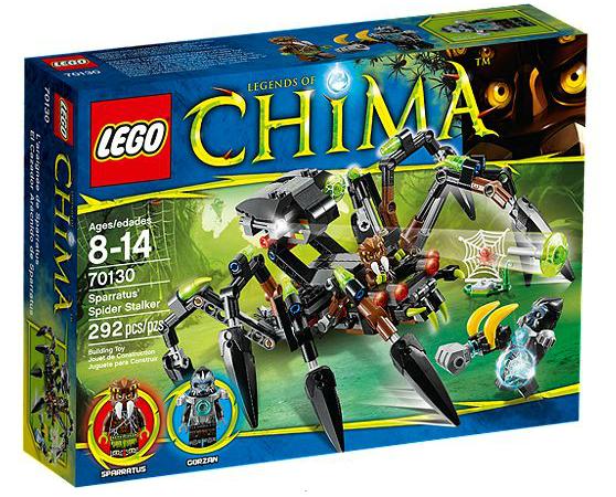 LEGO® Chima 70130 Sparratus Spinnen-Stalker