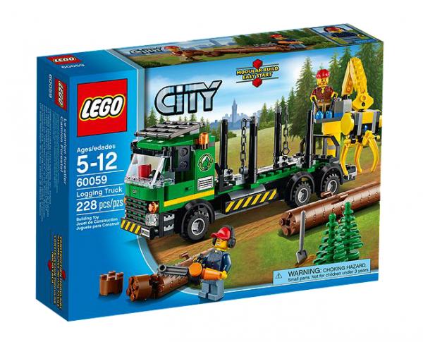 LEGO® CITY 60059 Holztransporter