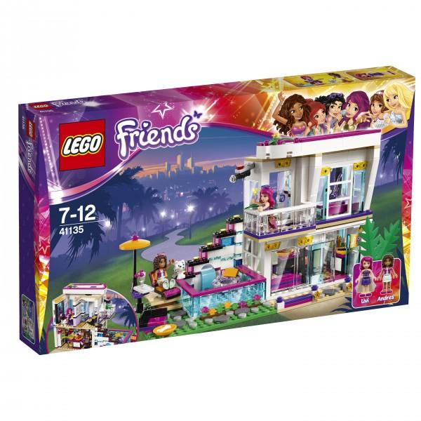 LEGO® Friends 41135 Livis Popstar-Villa