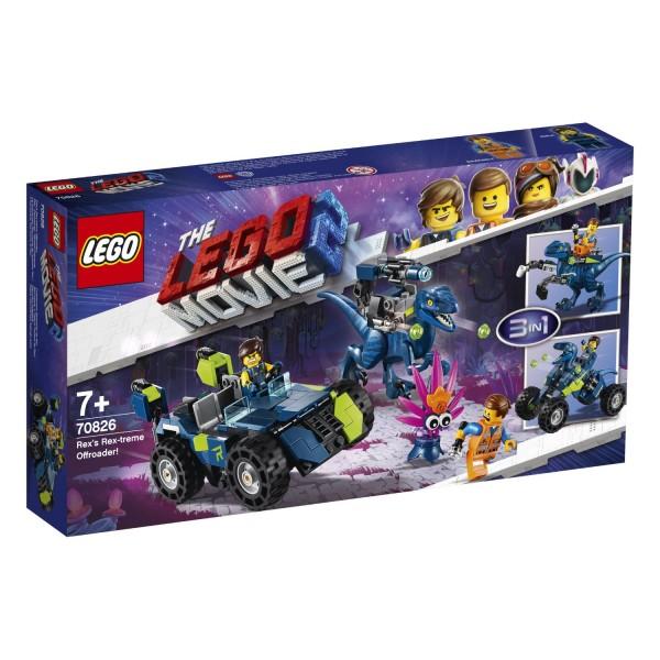 "LEGO® Movie 2 - 70826 Rex' ""Rextremes"" Offroad-Fahrzeug"