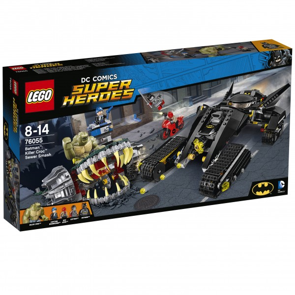 LEGO® DC Universe Super Heroes 76055 Batman: Killer Crocs Überfall in der Kanalisation