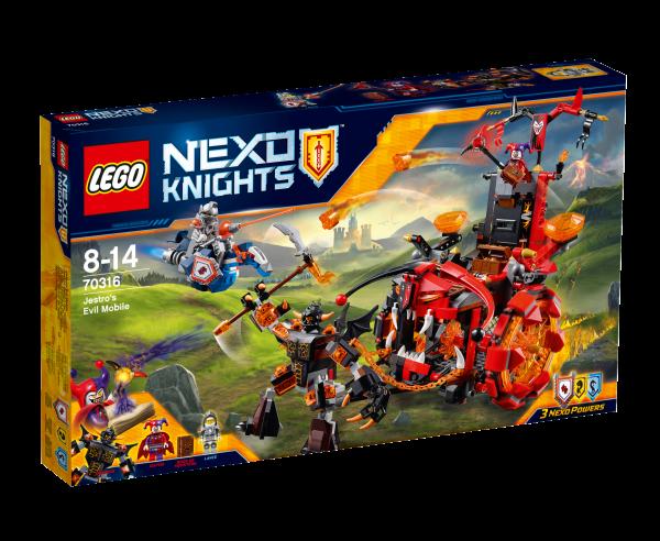 LEGO® Nexo Knights 70316 Jestros Gefährt der Finsternis