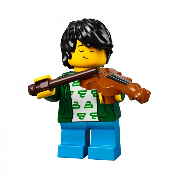 LEGO® Minifigur Serie 21 71029-02: Geigenspieler