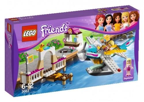 LEGO® Friends 3063 Flugschule mit Wasserflugzeug