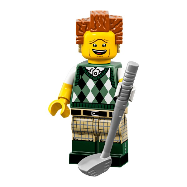 LEGO® Movie 2 Minifigur 71023-12: Golfspielender Präsident Business