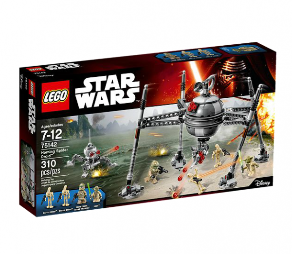 LEGO® Starwars 75142 Homing Spider Droid
