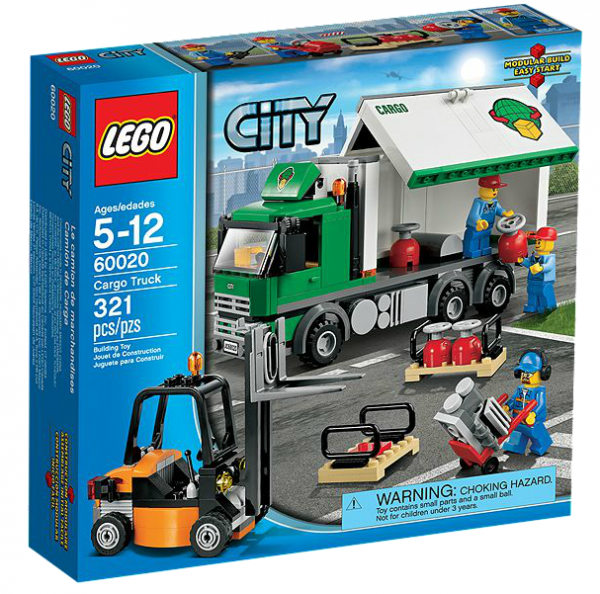 LEGO® CITY 60020 LKW mit Gabelstapler