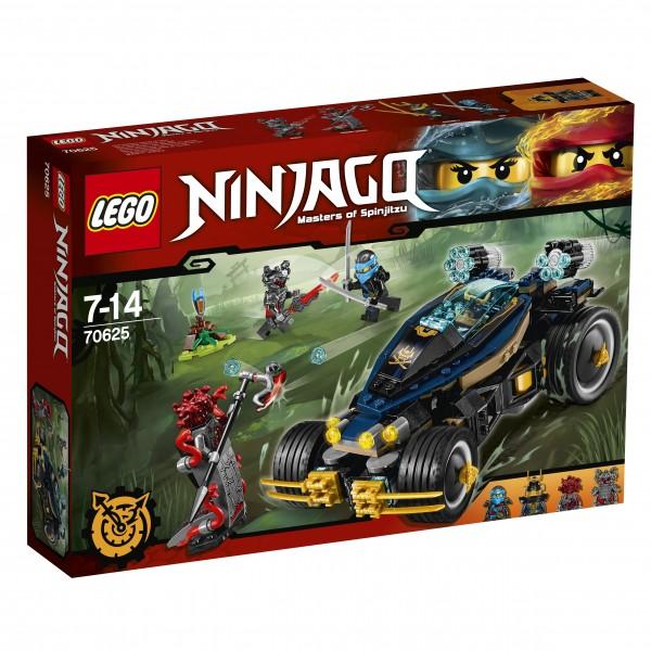 LEGO® Ninjago 70625 Samurai Turbomobil