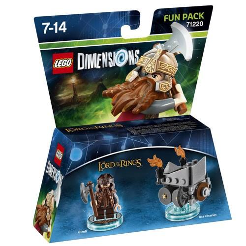 LEGO® Dimensions 71220 Fun Pack LOTR: Gimli