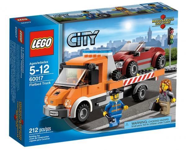 LEGO® CITY 60017 Tieflader