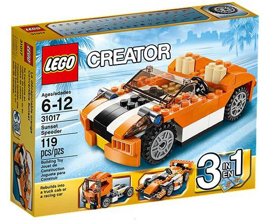 LEGO® Creator 31017 Ralley Cabrio
