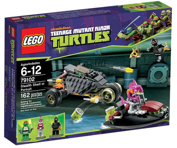 LEGO® TMNT 79102 Verfolgungsjagd