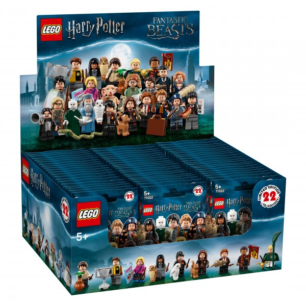 LEGO® 71022 Harry Potter™ und Phantastische Tierwesen™ Minifiguren Thekendisplay