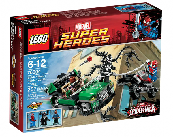 LEGO® Marvel Super Heroes 76004 Spider-Man™: Jagd im Spider-Cycle