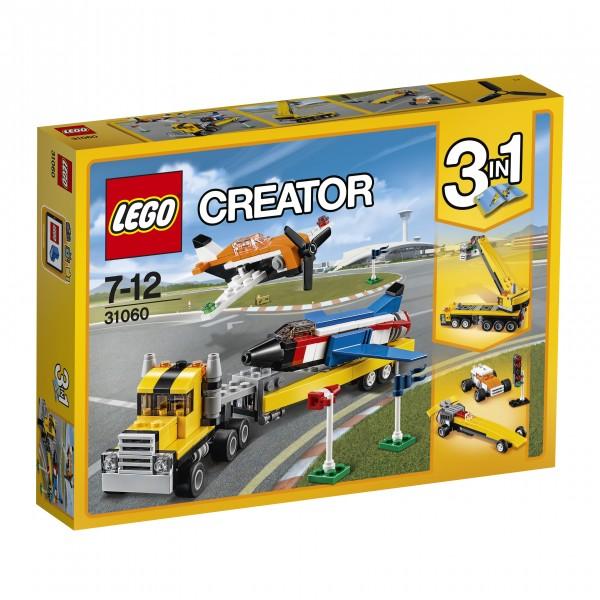 LEGO® Creator 31060 Flugschau-Attraktionen