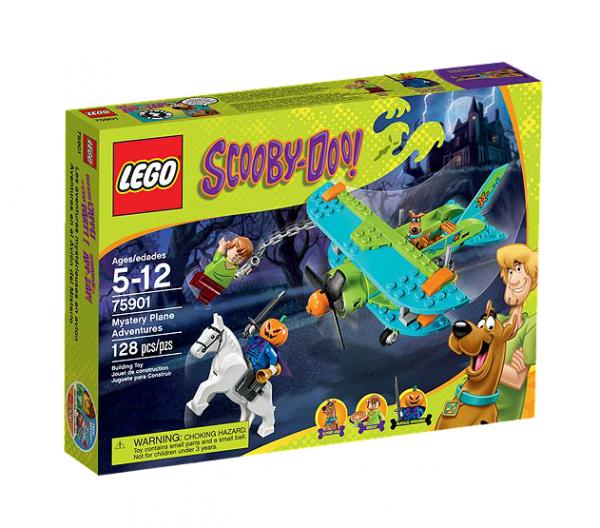 LEGO® Scooby Doo 75901 Abenteuer im geheimnisvollen Flugzeug