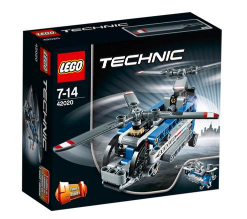 LEGO® Technic 42020 Doppelrotor-Hubschrauber