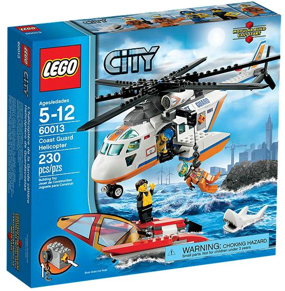 LEGO® CITY 60013 Hubschrauber der Küstenwache