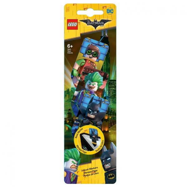 LEGO® 51762 Lesezeichen 3er Pack LEGO® Batman Movie