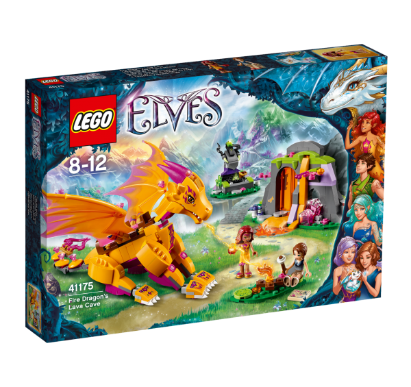 LEGO® Elves 41175 Lavahöhle des Feuerdrachens