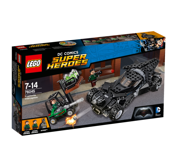 LEGO® DC Universe Super Heroes 76045 Kryptonit-Mission im Batmobil