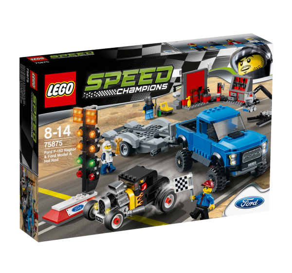 LEGO® Speed Champions 75875 Ford F-150 Raptor & Ford Model A Hot Rod