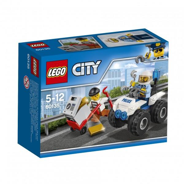 LEGO® CITY 60135 Gangsterjagd auf dem Quad