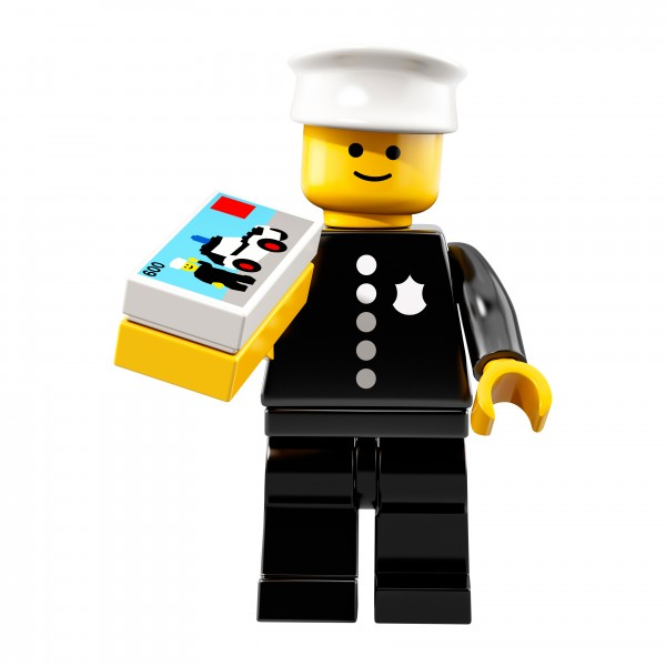 LEGO® 71021 Minifiguren Serie 18: Polizisten von 1978 71021-08