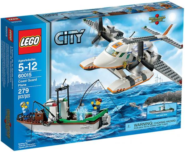 LEGO® CITY 60015 Flugzeug der Küstenwache