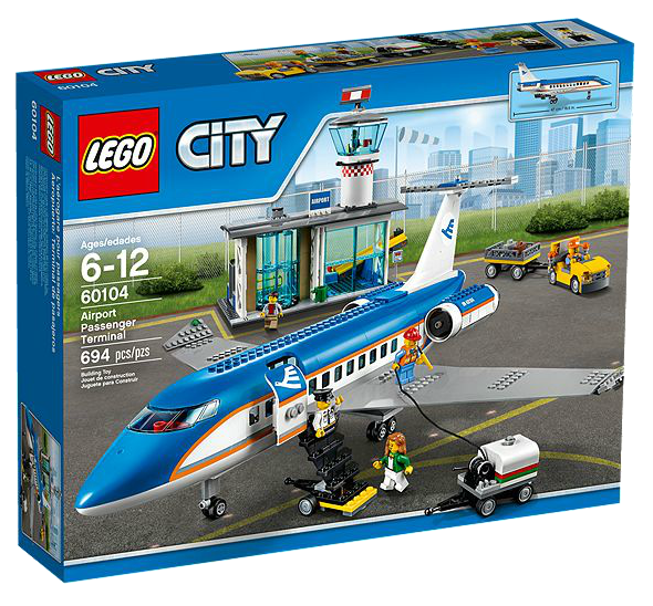 LEGO® CITY 60104 Flughafen-Abfertigungshalle