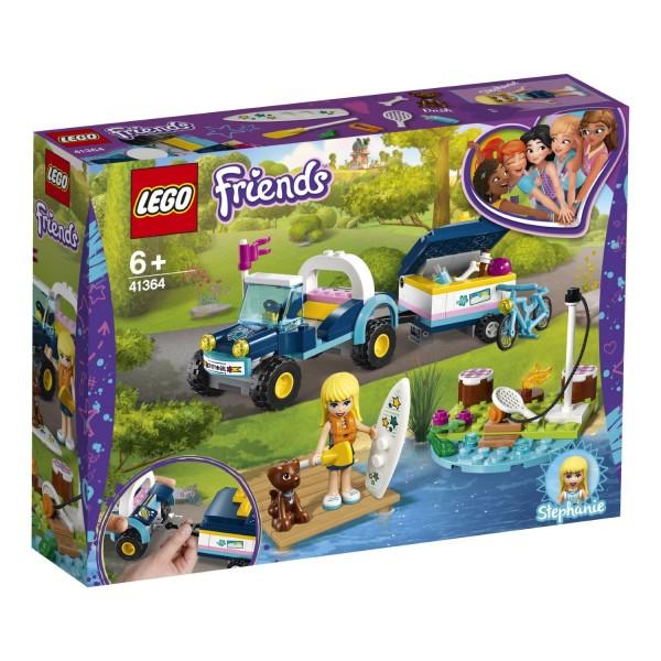LEGO® Friends 41364 Stephanies Cabrio mit Anhänger