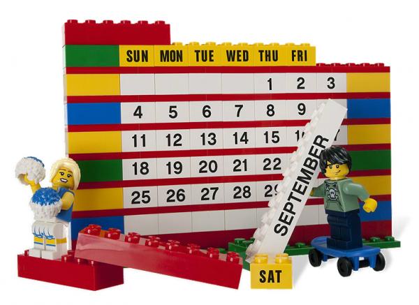 LEGO® 853195 Steine Kalender