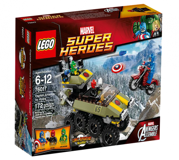 LEGO® Marvel Super Heroes 76017 Captain America vs. Hydra